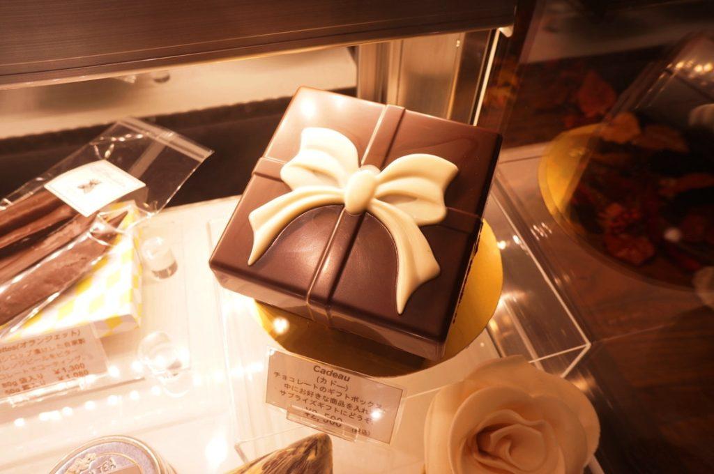 レ・プティット・パピヨット チョコレートのギフトボックス