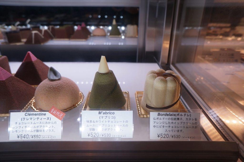 レ・プティット・パピヨット ケーキ