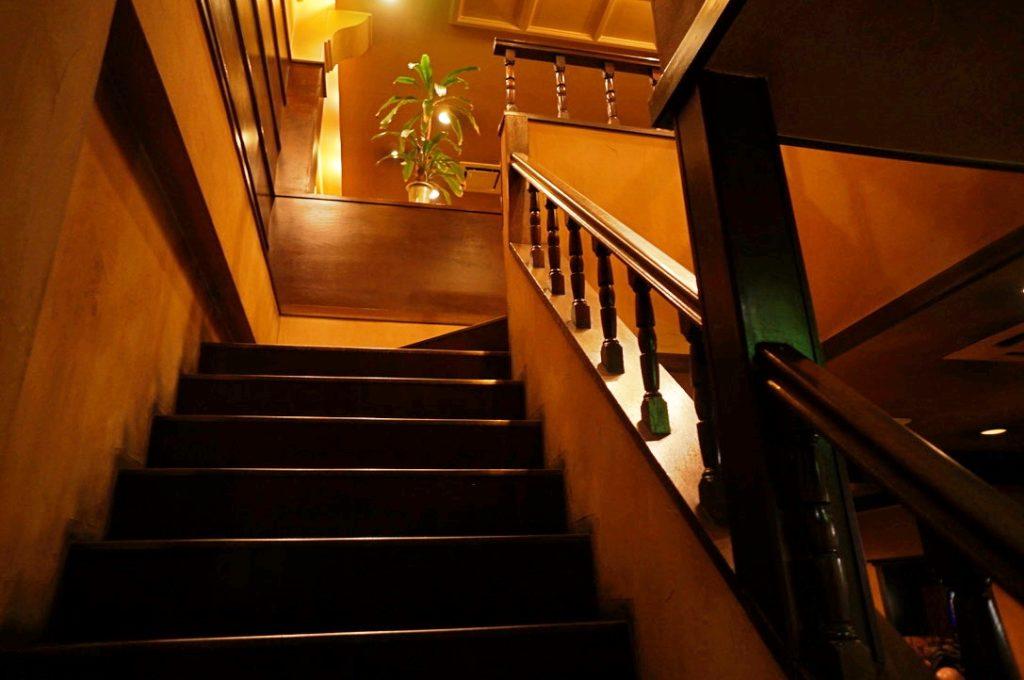 カッスルクーム 階段