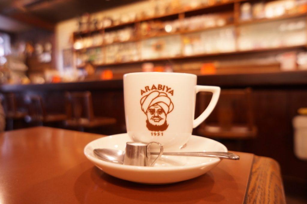 アラビヤコーヒー ブレンドコーヒー