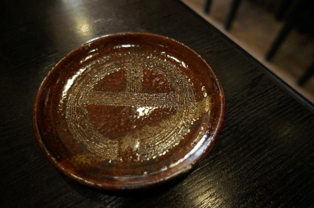 円 ホットコーヒーの受け皿