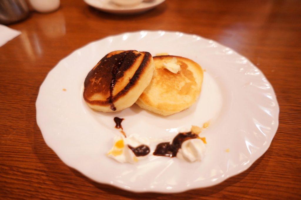 マル屋のホットケーキ