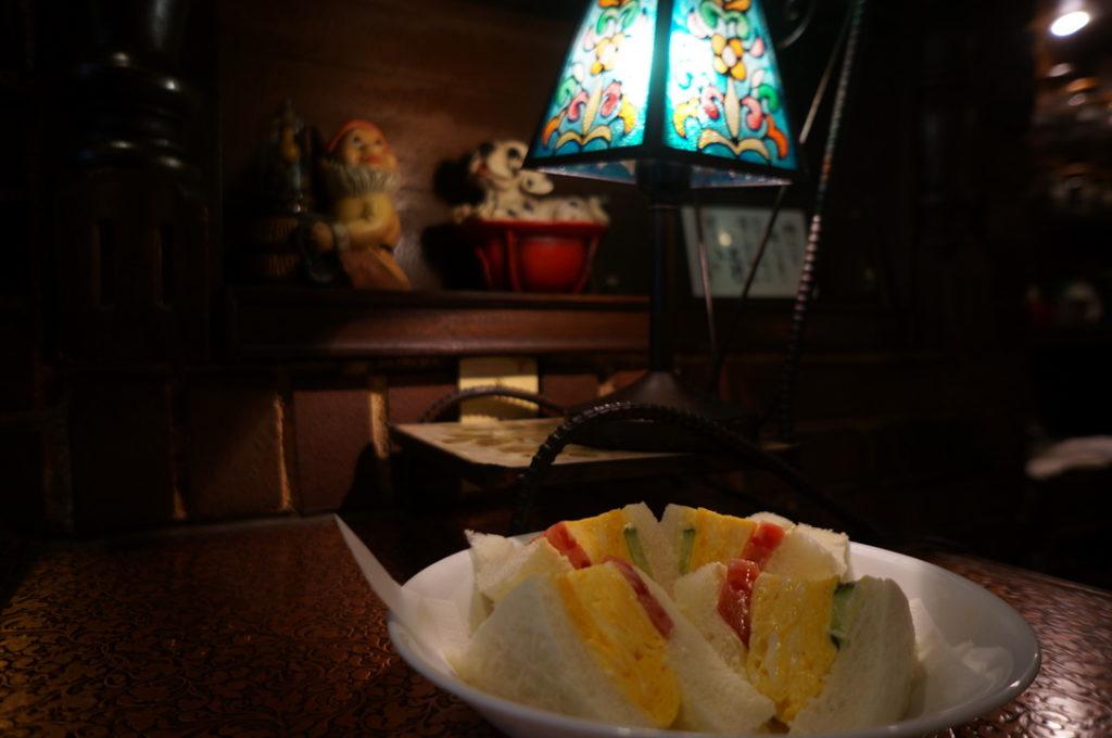 純喫茶ヒロの玉子サンド