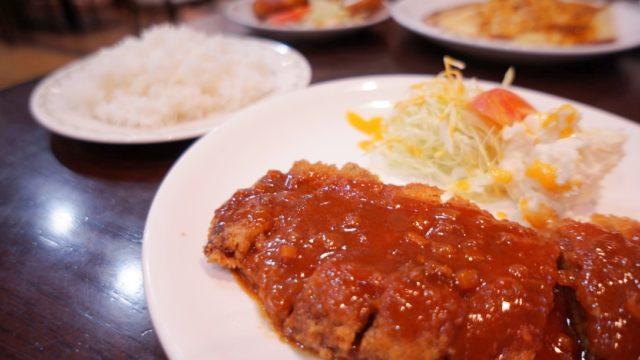 洋食屋カトリーナ ビフカツ定食