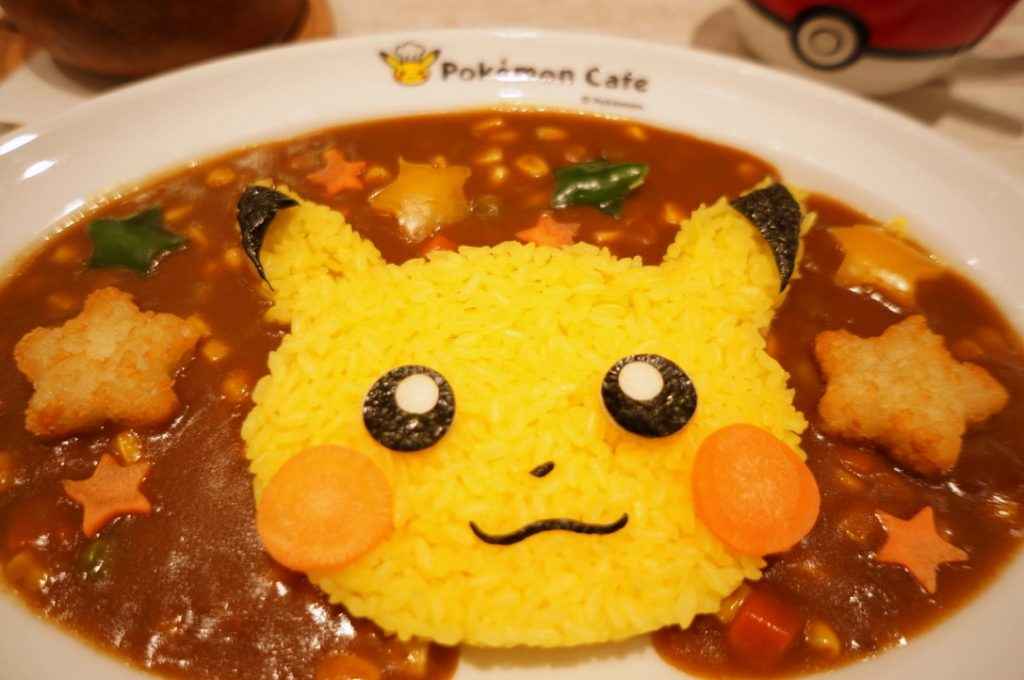 ポケモンカフェ ピカチュウの元気いっぱいカレー
