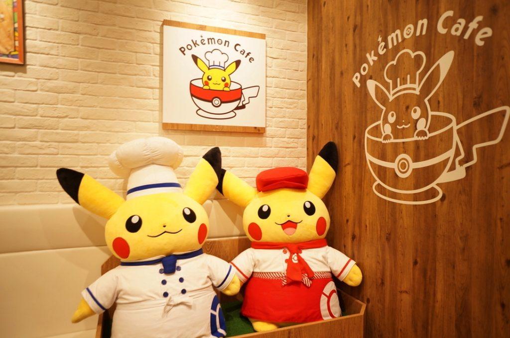 ポケモンカフェ ピカチュウのマスコット