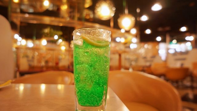 マヅラ喫茶店 ソーダ水