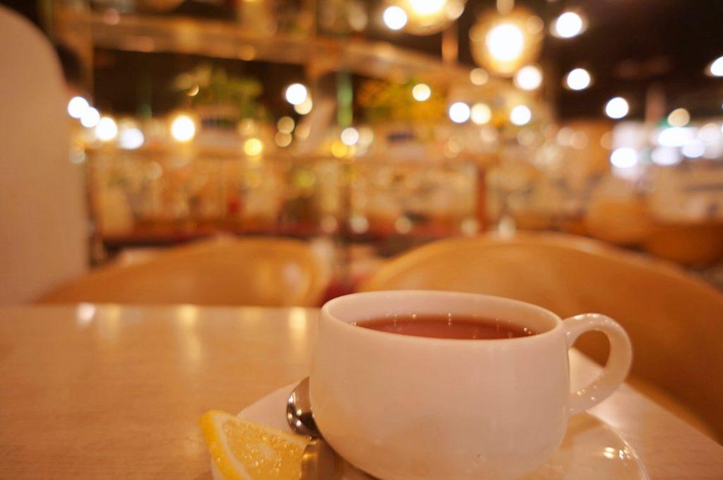 マヅラ喫茶店 ホットレモンティー