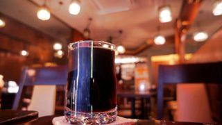 純喫茶MONAのアイスコーヒー