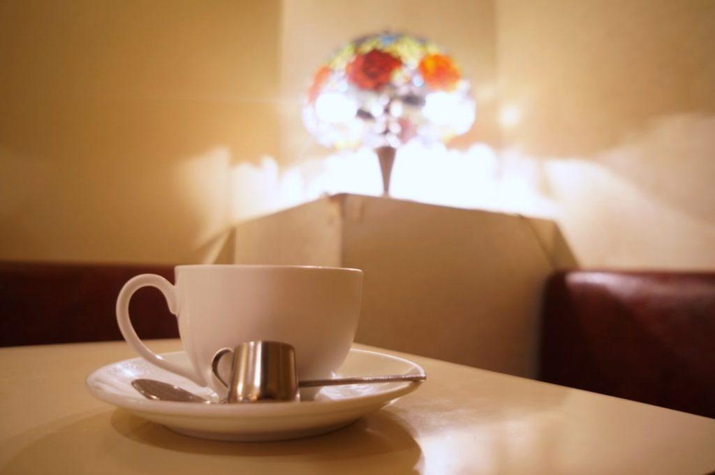 純喫茶スワンのホットコーヒー