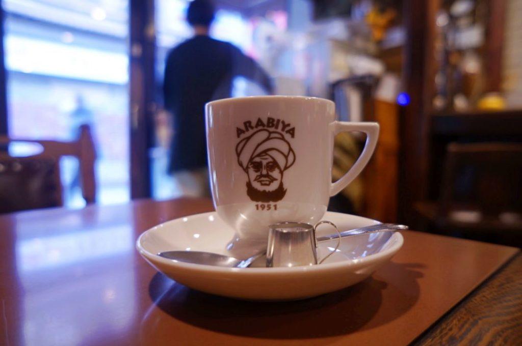 アラビヤコーヒーのマンデリンコーヒー