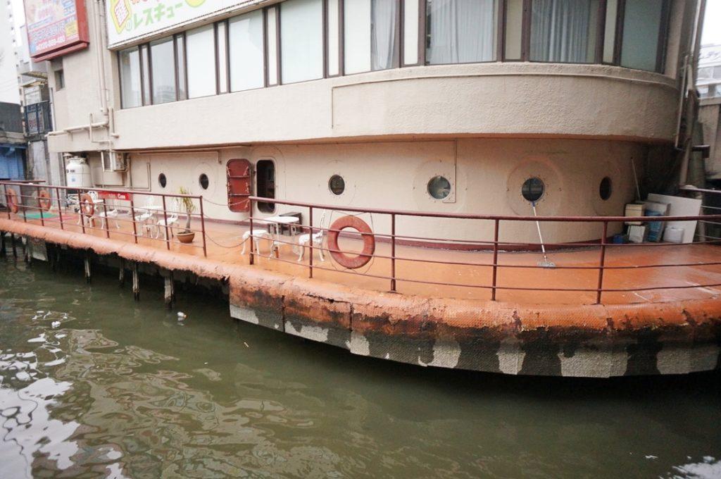 珈琲艇キャビンの外観