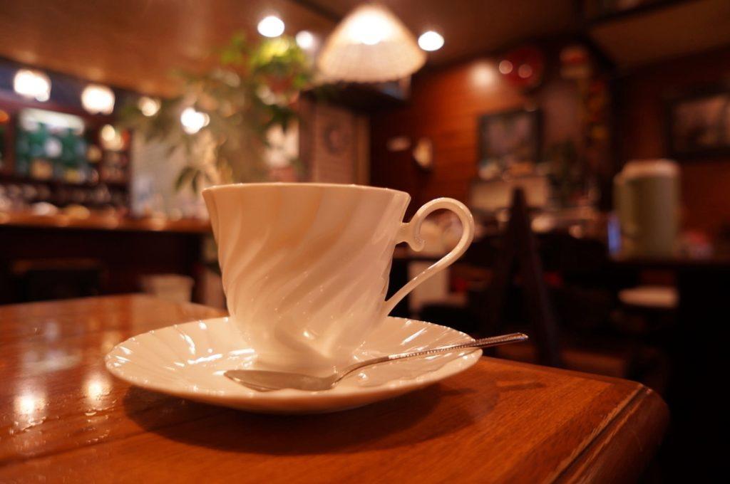 純喫茶ふじのブレンド珈琲