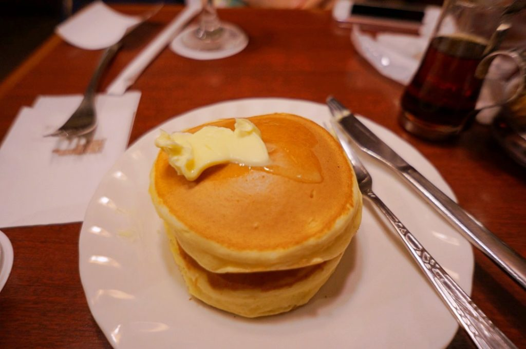サンシャインのホットケーキ