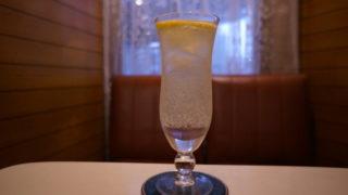 喫茶サンレモンのレモンスカッシュ