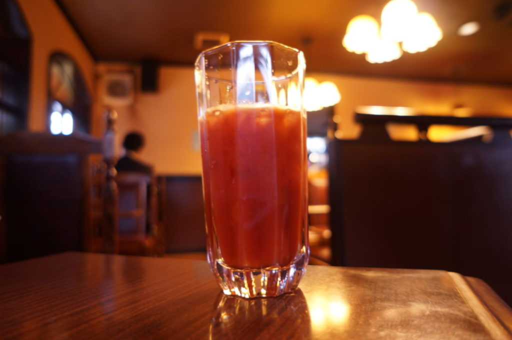 チコオ珈琲のトマトジュース
