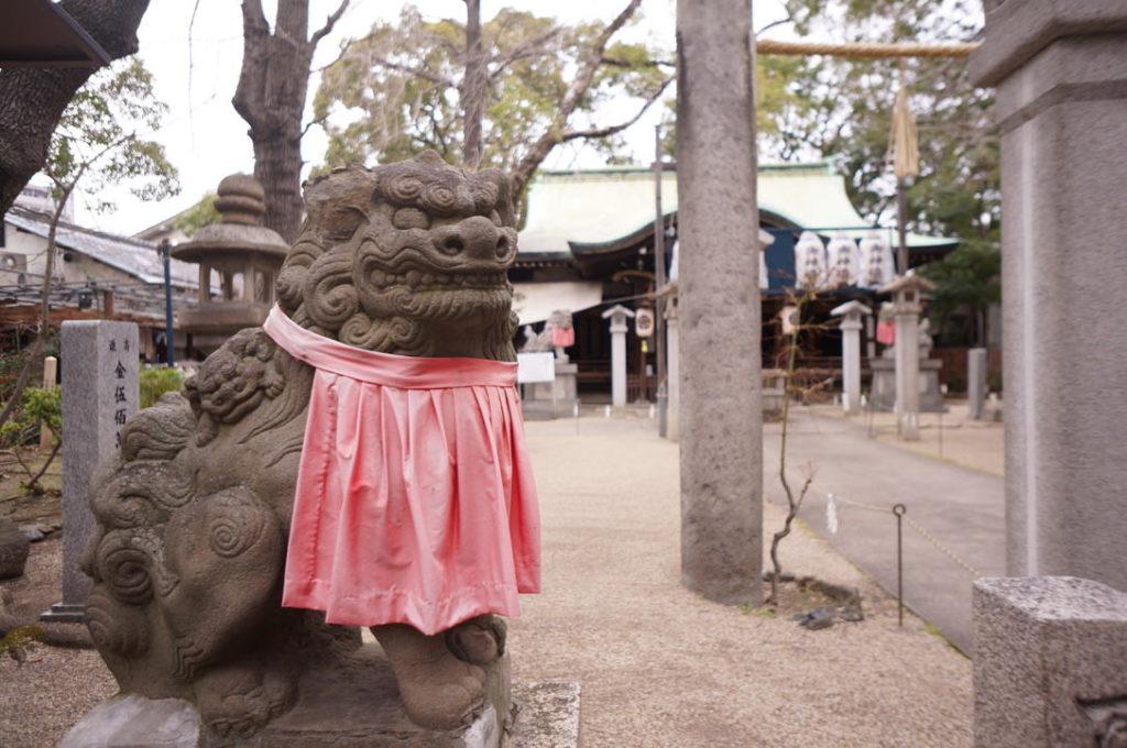 守居神社の狛犬