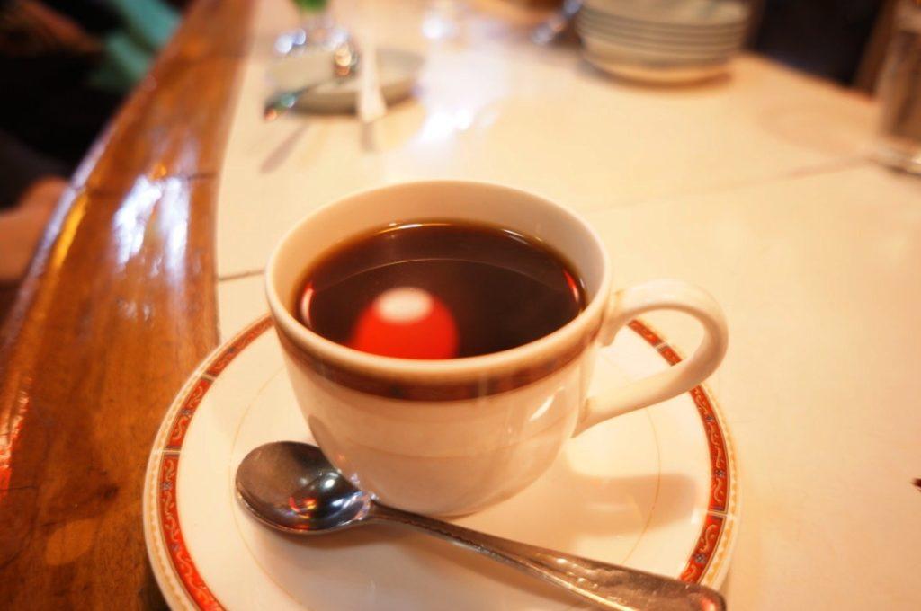 白泉堂のホットコーヒー