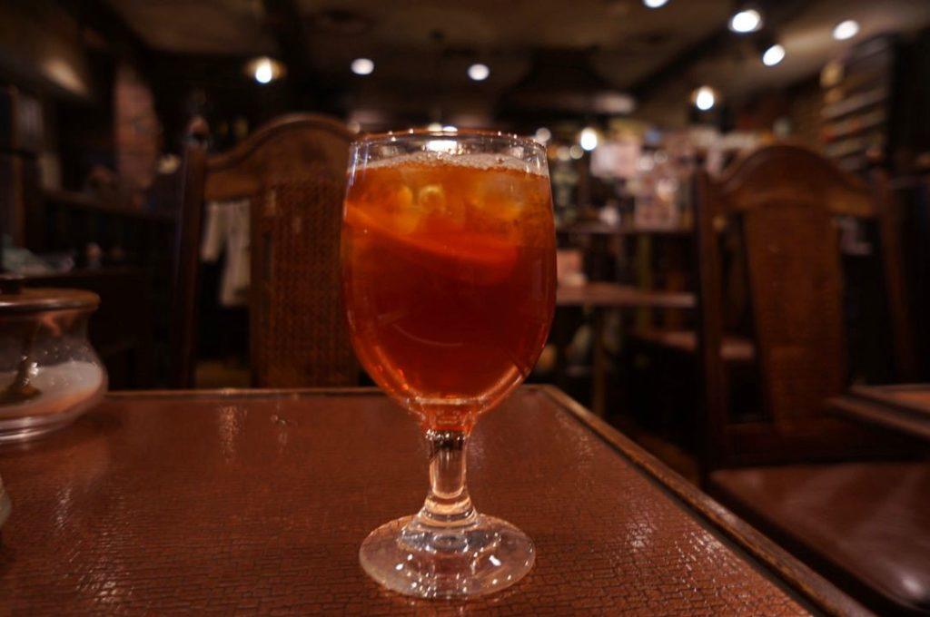 純喫茶ヒロのアイスレモンティー