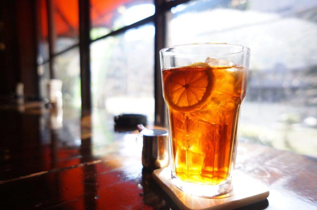 純喫茶MONAのアイスレモンティー