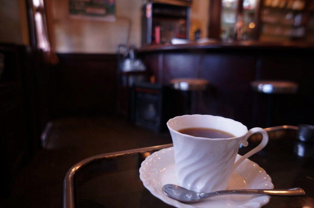 カームのホットコーヒー