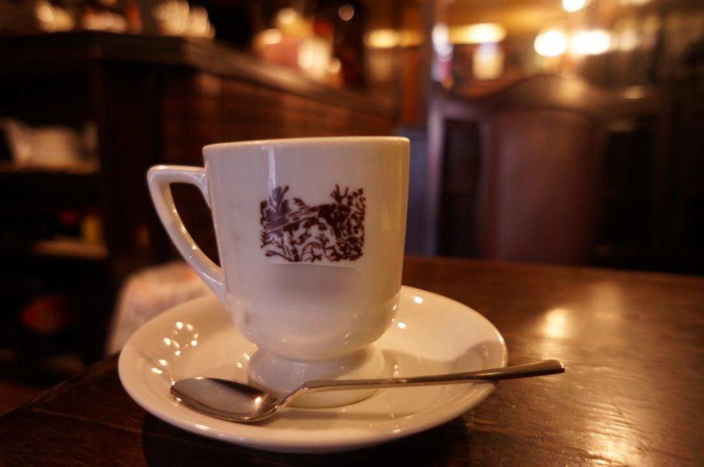 喫茶再会のコーヒー