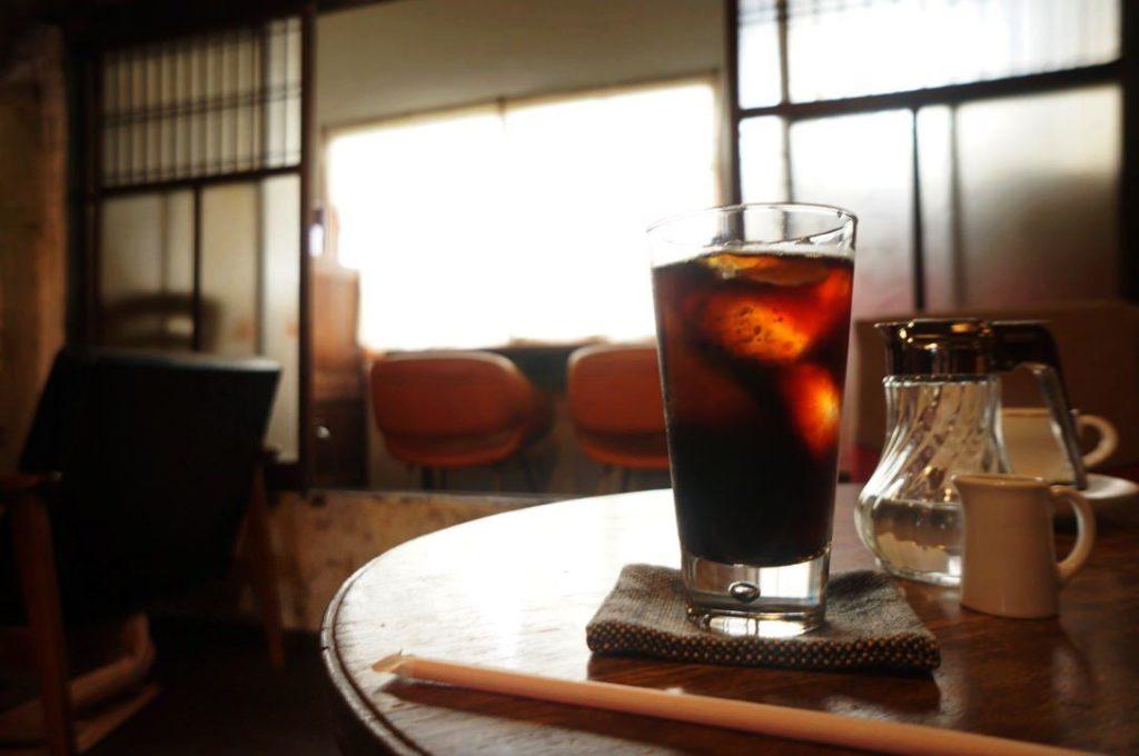 karo馥郁焙煎工房のアイスコーヒー