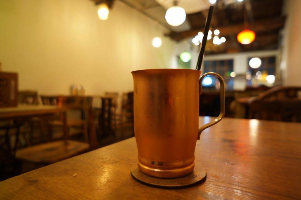 カフェトキオナのアイスコーヒー