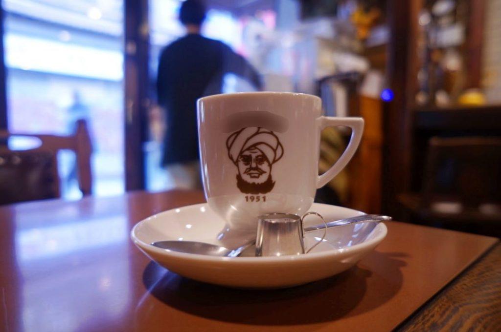 アラビヤコーヒーのコーヒー