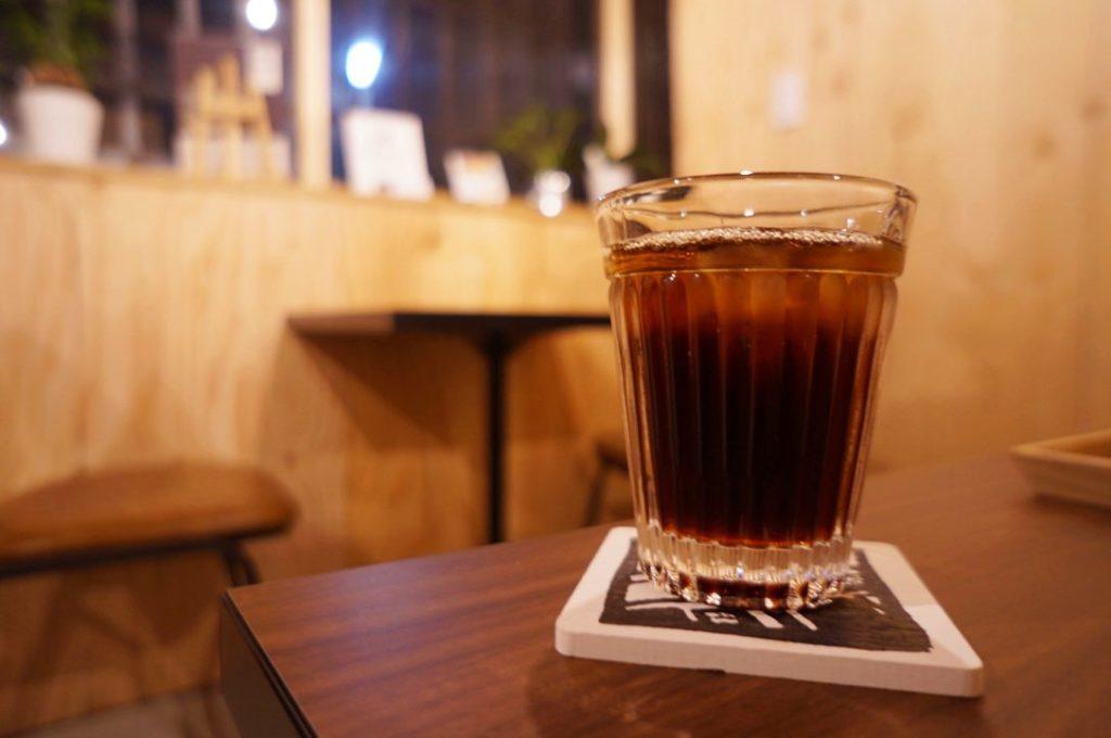 書肆喫茶moriのアイスコーヒー