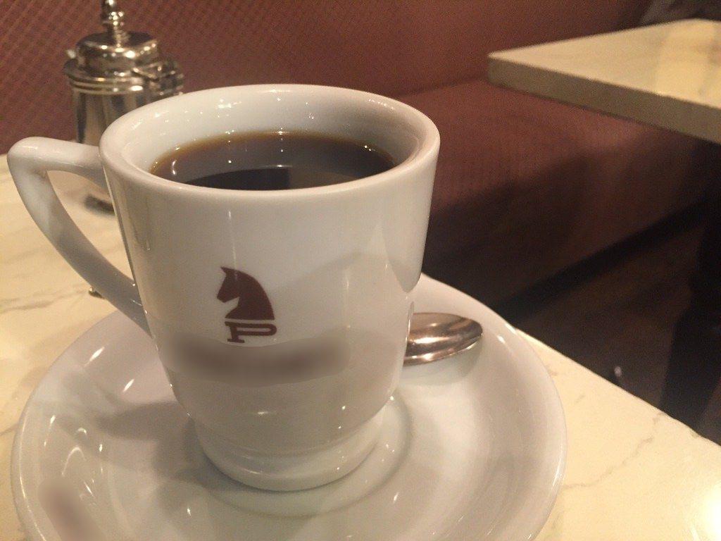 プランタンのコーヒー