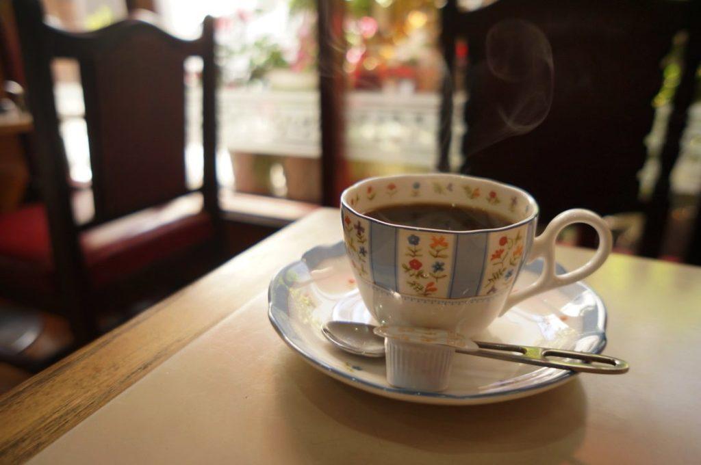 ハクサンのホットコーヒー