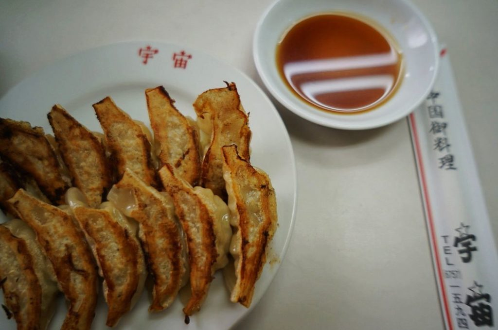 中華料理宇宙の餃子