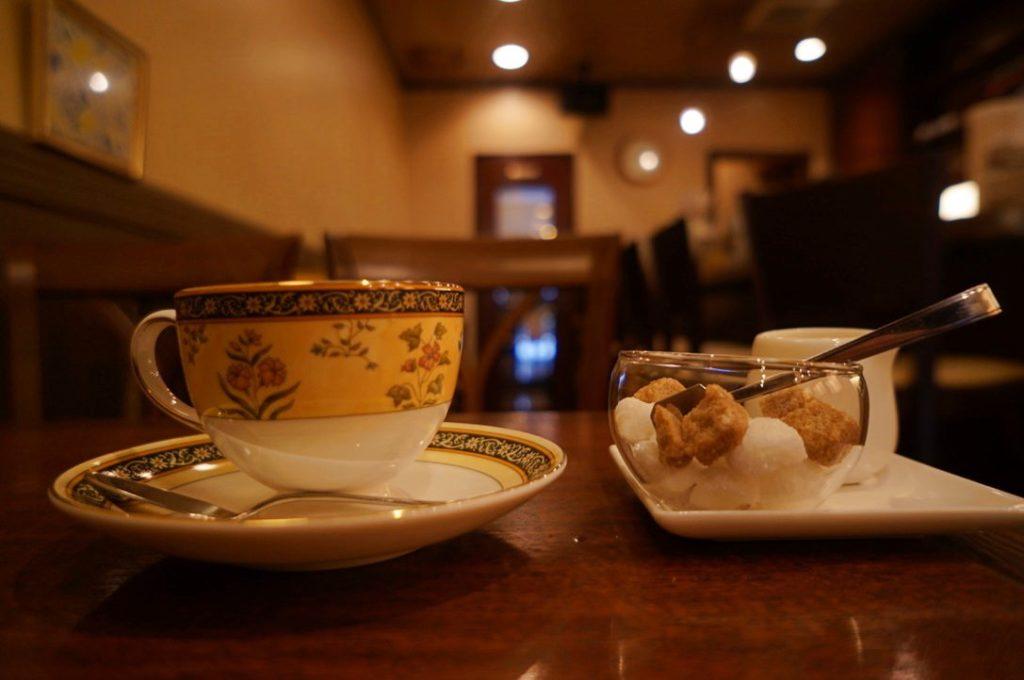 ネイキッドのホットコーヒー