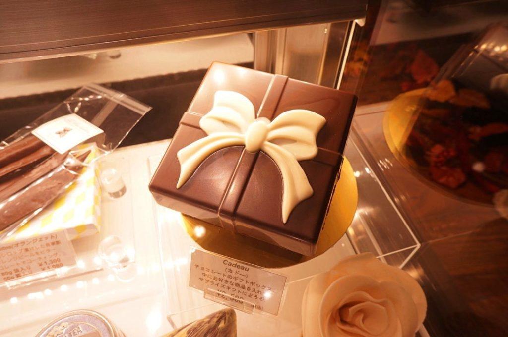 レ・プティット・パピヨットのチョコレート