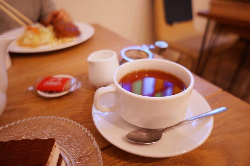 カフェテントウムシの紅茶