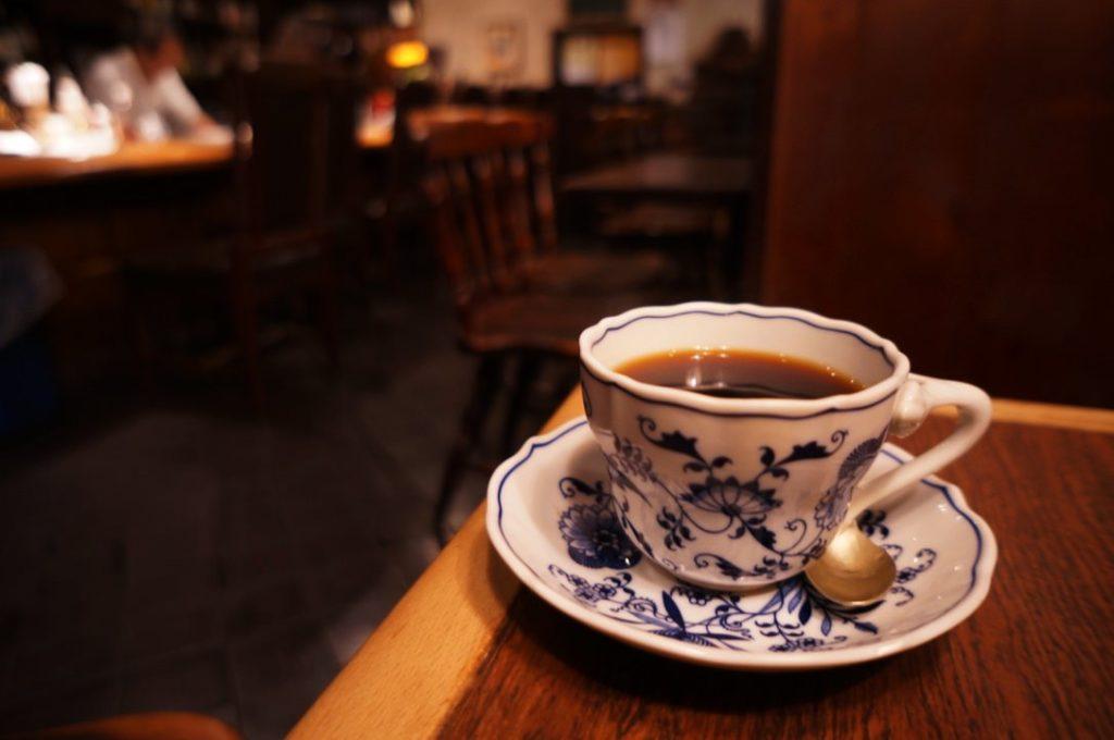 ナロードのホットコーヒー