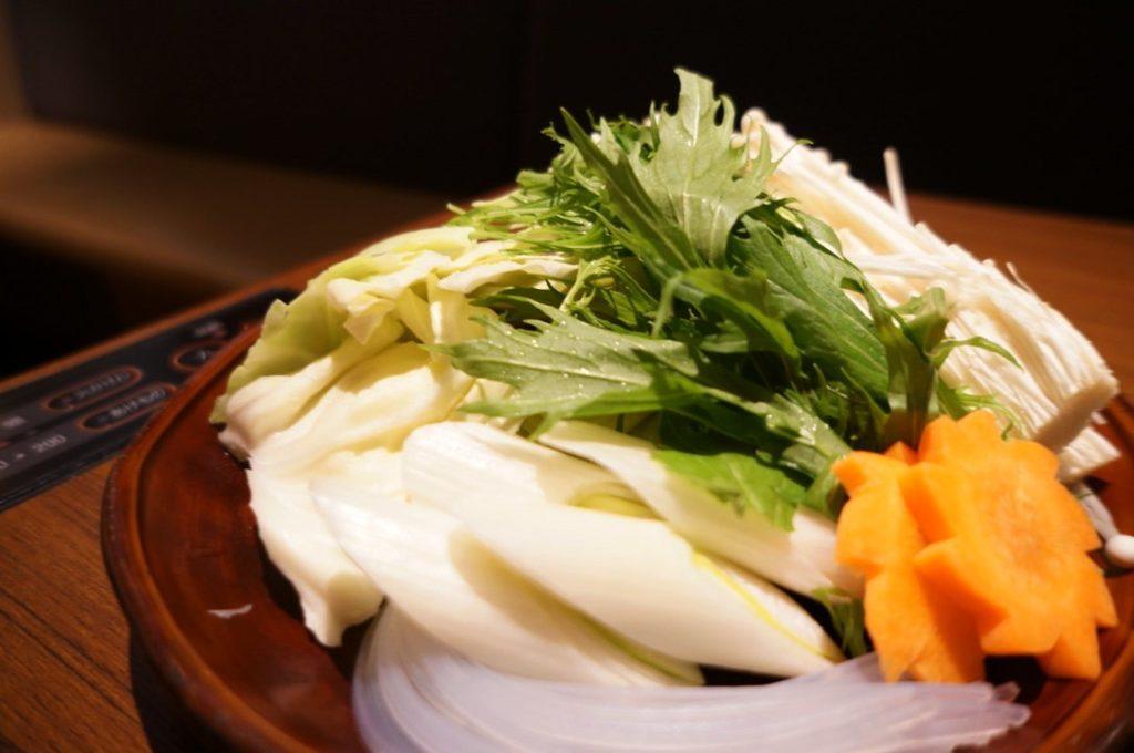 華味鳥の野菜