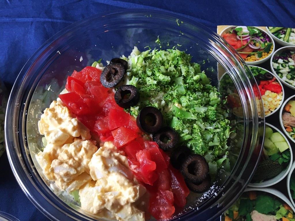 GLB(グリーンライフビギニング)のサラダ