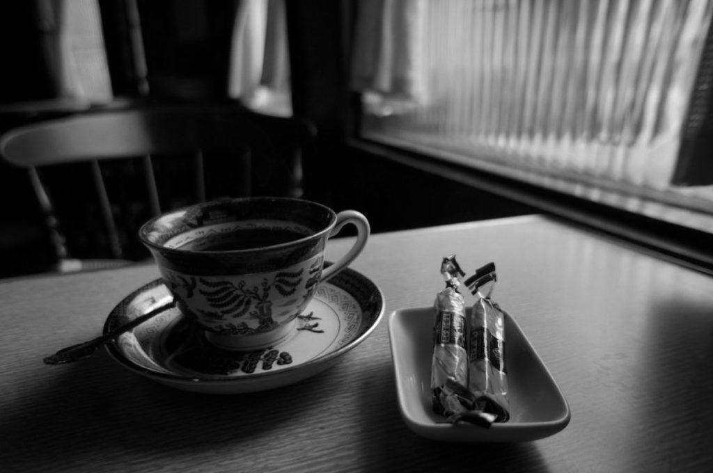 リーキのホットコーヒー