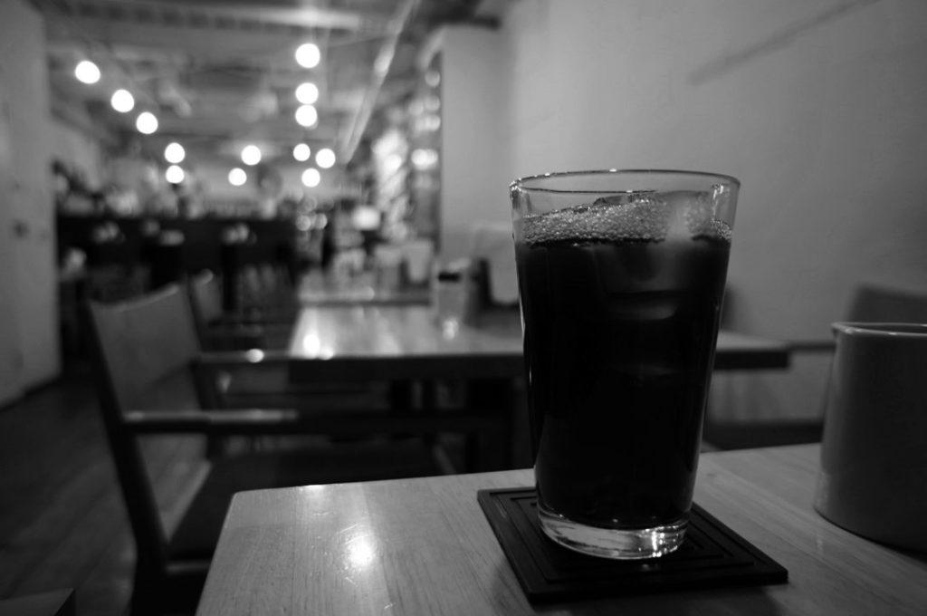 ピークローストコーヒーのアイスコーヒー