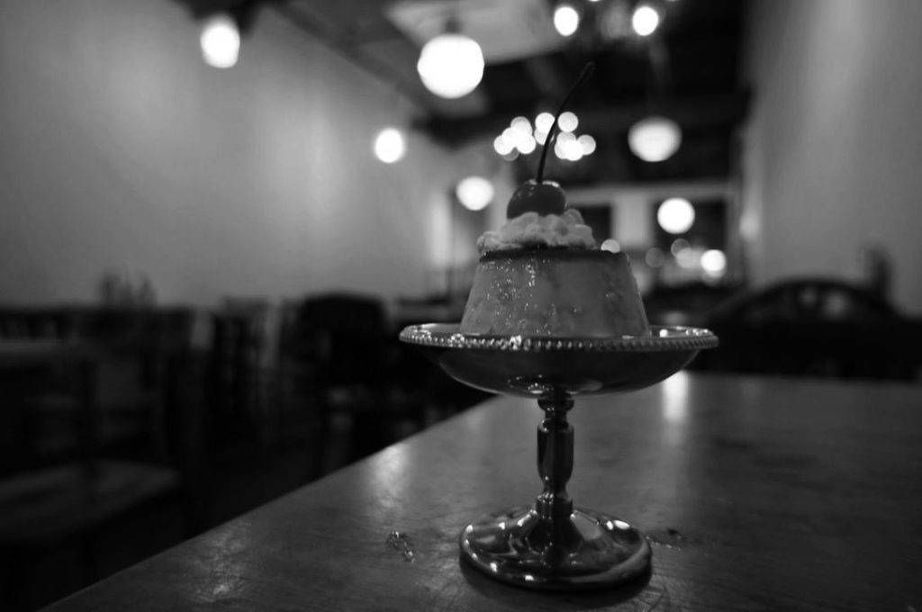 カフェトキオナのプリン