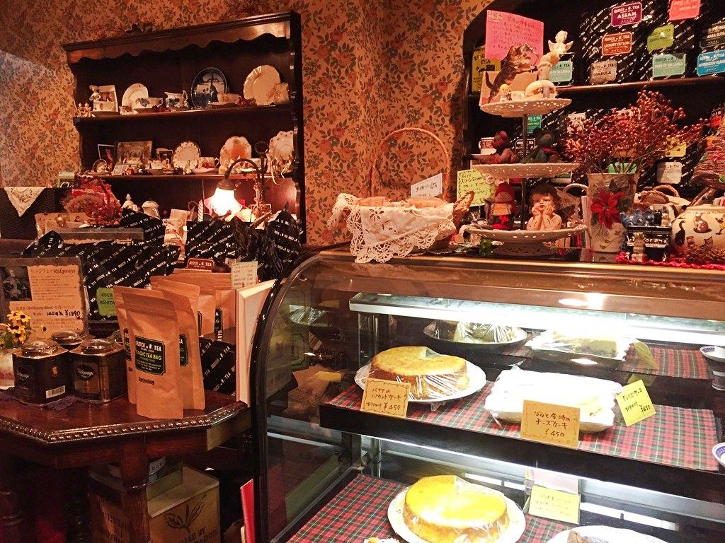 ティーハウス茶魔の店内